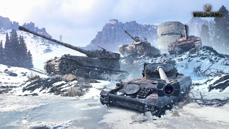 World of Tanks sladis07 берем отметку на ис-7