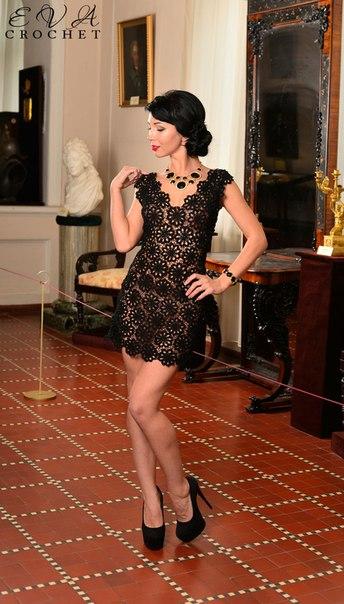 Маленькое черное платье! (4 фото) - картинка