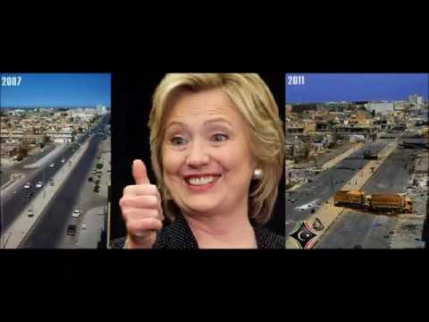 Libya - Before and After Obama and Hillarys Humanitarian Mission