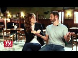 Under the Dome's Rachelle Lefevre and Mike Vogel Cover Shoot! TV Guide Magazine!