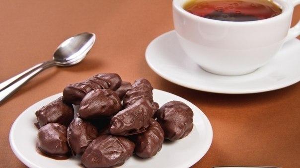 Чернослив в шоколаде (1 фото) - картинка
