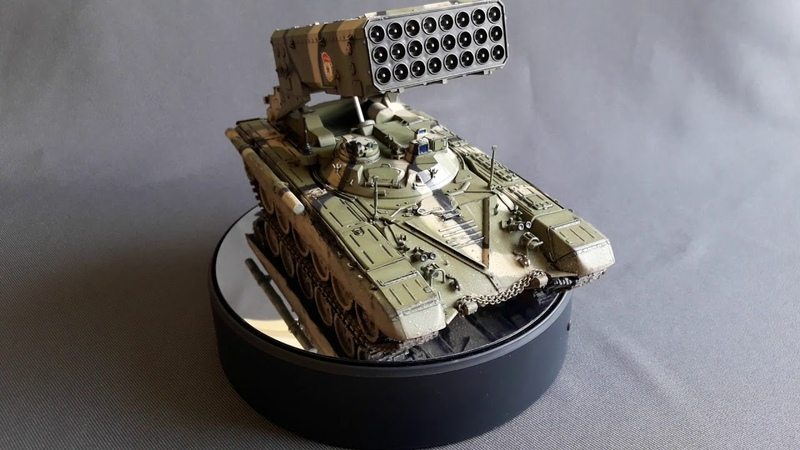Tos-1А.Trumpeter.1/35.