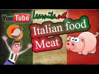 Italian food names - Meat - Learn italian language