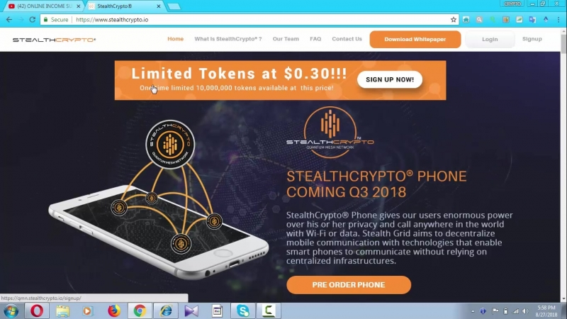 STEALTHCRYPTO Quantum Cybersecurity for the New Age of Communication