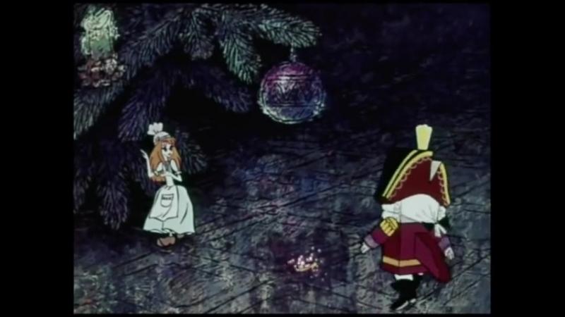 """Вальс Цветов (фрагмент мультфильма """"Щелкунчик"""", 1973)"""