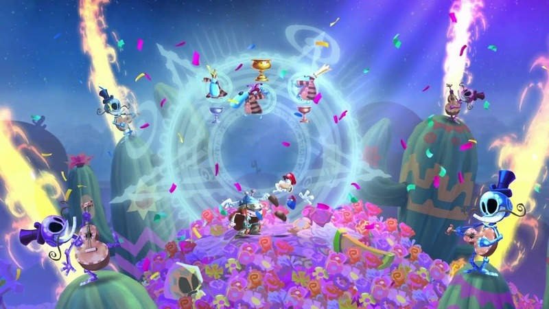 Rayman Legends - 2 Players All Musical levels