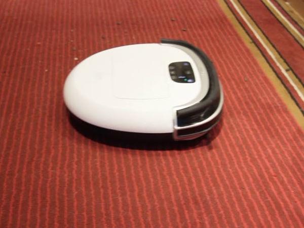 Робот пылесос iCLEBO Omega уборка ковра. Купить крутой робот.