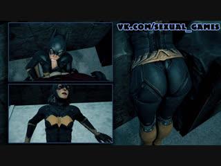Batgirl and robin (dc comics sex)