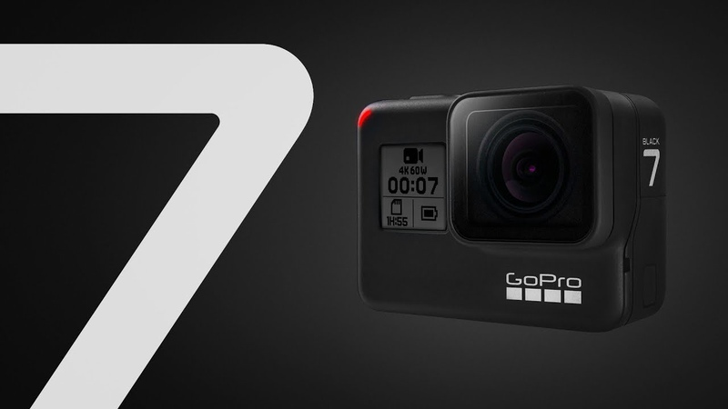 GoPro HERO7 Black — новая модель легендарной экшн-камеры