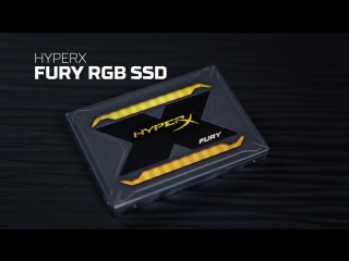 SSD-накопители HyperX Fury RGB