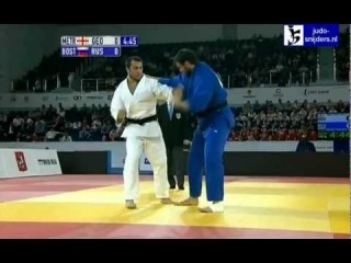 Judo 2012 Grand Slam Moscow: Metreveli (GEO) - Bostanov (RUS)  +100kg  semi-final