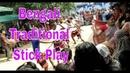Bengali Traditional Heritage Stick Play Lathi Khela Funny Stick Dance Funny Stick Play