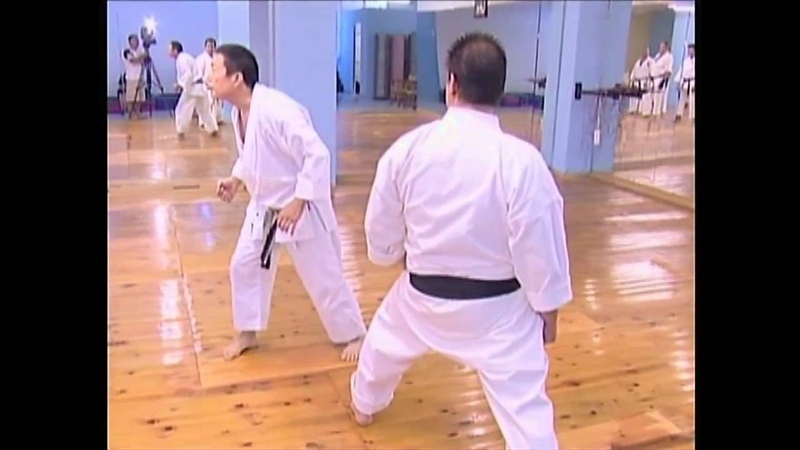 Sensei Y.Katsumata teaching 2010 the secret of crash power in maegeri