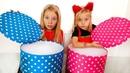 Дети сами празднуют 4 000 000 подписчиков или Switch up для детей