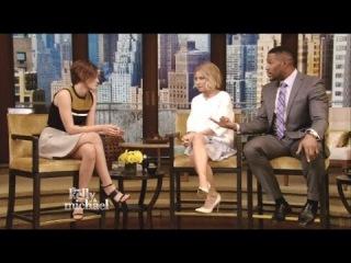 Kristen Stewart - Interview - Live! With Kelly & Michael