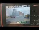 В Улан Удэ грузовик сносит легковушку