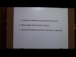Lecture 9   Recent Advances in Algorithms   Michael Kapralov
