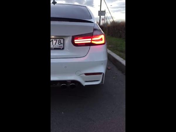 Задние фонари m performance BMW f30