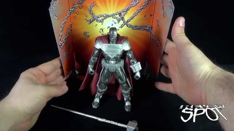 Throwback - Mattel DC Superheroes Steel