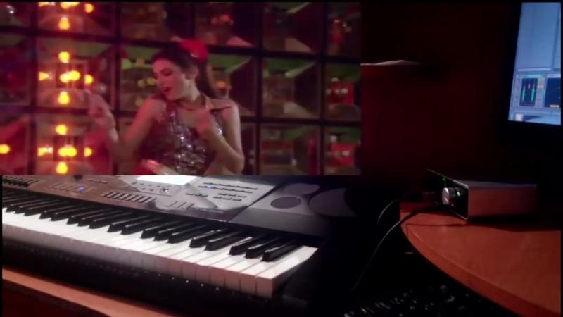 Disco Dancer - Jimmi Jimmi Jimmi Aaja Aaja Aaja (REMIX 2017) на синтезаторе CASIO CTK-7200