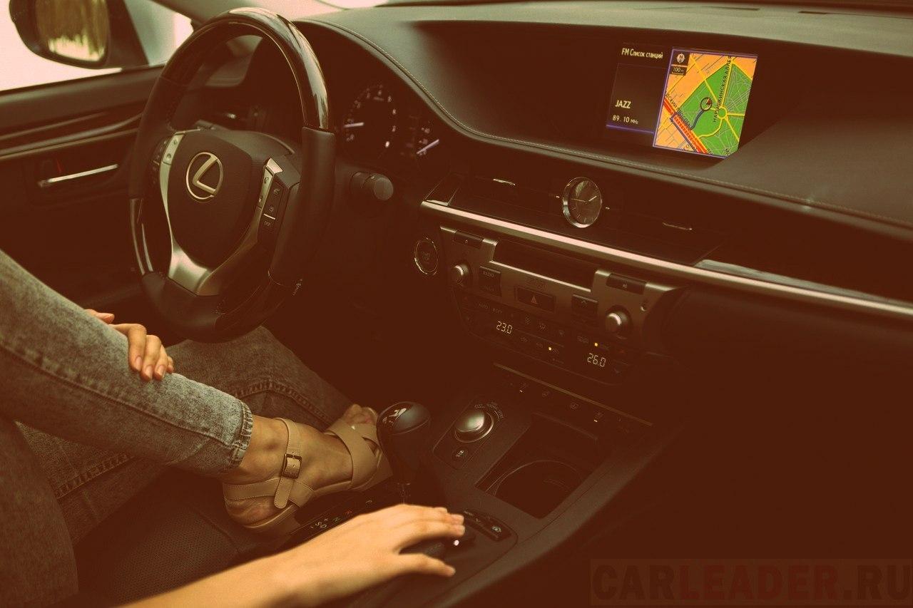 Interior Lexus ES