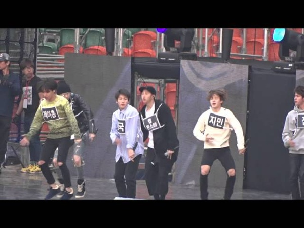 151011 BTS - 쩔어 rehearsal (Asia song festival in Busan 2015) [2]