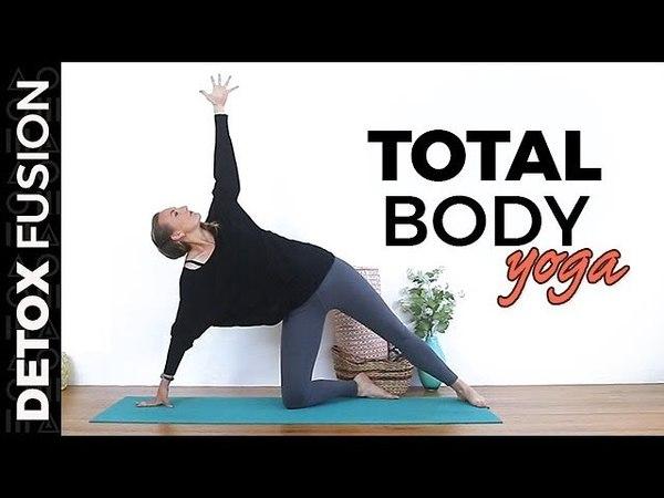 Day 5: Full Body Yoga Flow | Kundalini, Vinyasa, Yin (30-min) Detox Yoga Fusion 2018