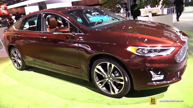 2019 Ford Fusion Exterior and Interior Walkaround Debut at 2018 New York Auto Show