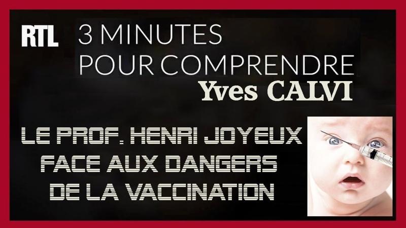 Dangerosité des vaccins à laluminium dénoncée par le Pr.H.Joyeux. Cf. descriptif (Hd 720)
