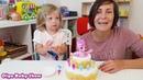 Торт с сюрпризом ЧЕЛЛЕНДЖ для детей. Оля и мама - Кто найдет Пинки Пай