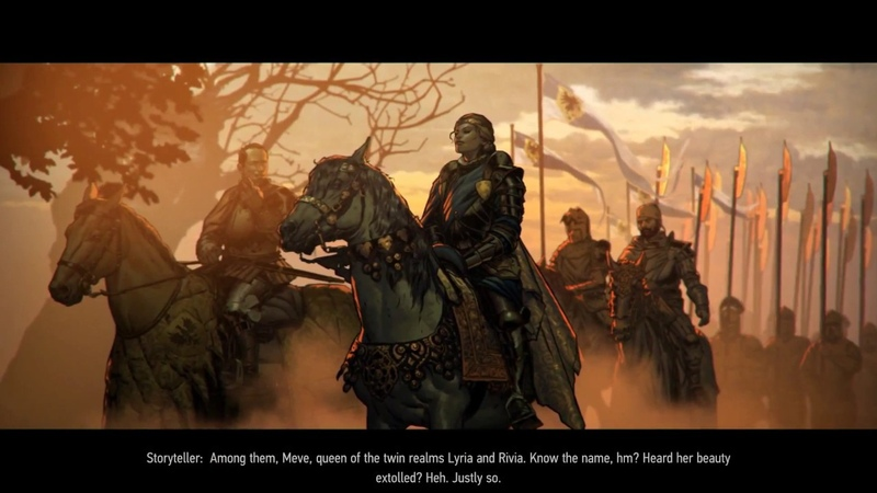 The first 24 minutes of Thronebreaker The Witcher Tales | Entertainium Previews