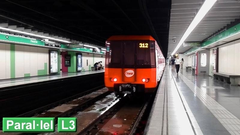 Paral·lel L3 Metro de Barcelona ( TMB 3000 )