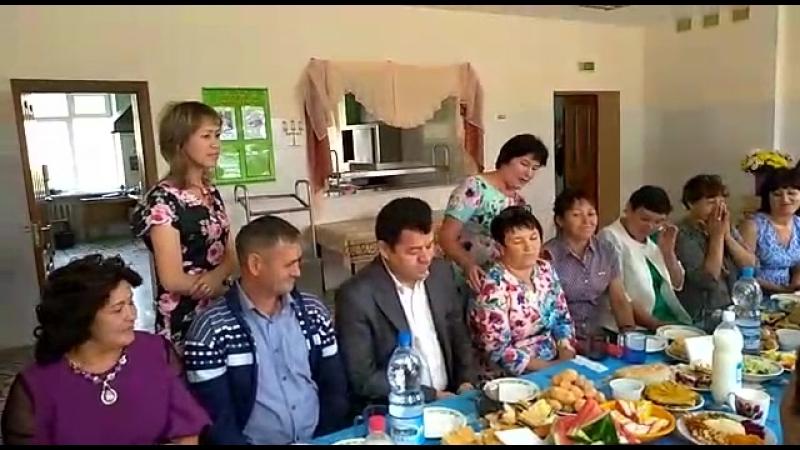 Встреча одноклассников Тляумбетовской школы Кугарчинского района РБ 11 08 2018 г