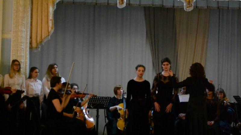 Отчётный концерт :Вокального отделения Stabat mater(4)