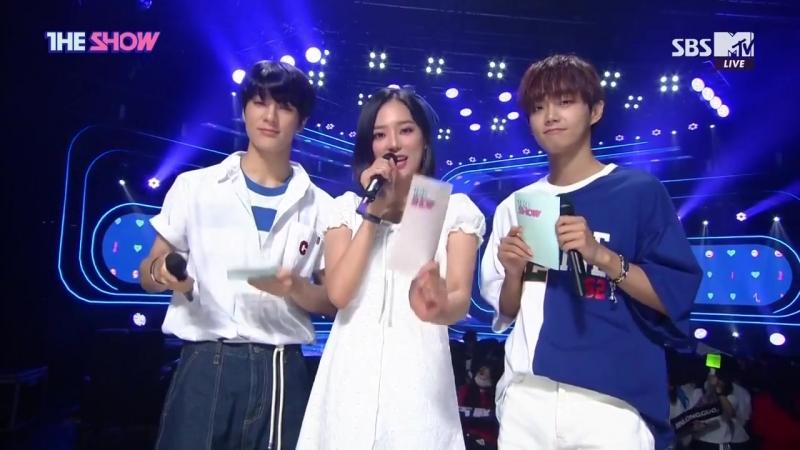 The Show 180717 MC CLC Yeeun CUT