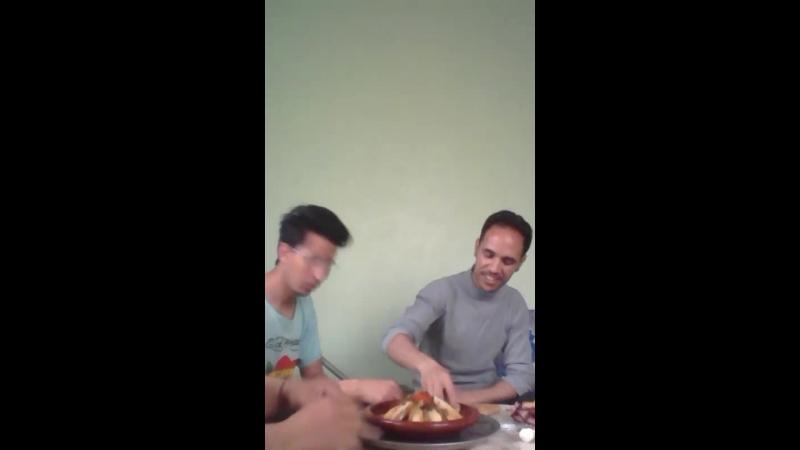 Tajine moroccan welcome friends