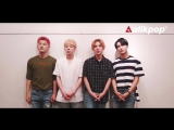 MESSAGE | 07.07.18 | A.C.E @ Allkpop Interview with K-pop group A.C.E!