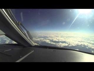Новый авиарейс Минск-Будапешт-Белград через объектив камеры GoPro