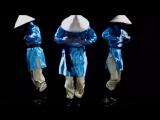Японская танц. гр. - Фантазия на русскую песню Коробушка