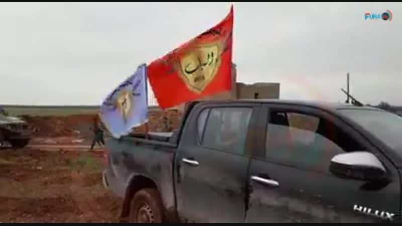 13.01.19 - Совместные патрули ВП РФ и СДС к северу от Аль-Арима