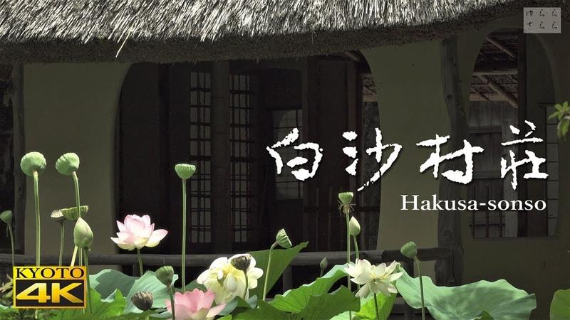 [4K] 白沙村荘 橋本関雪記念館 京都の庭園 Hakusason-so The Garden of Kyoto Hashimoto Kansetsu Garden Museum