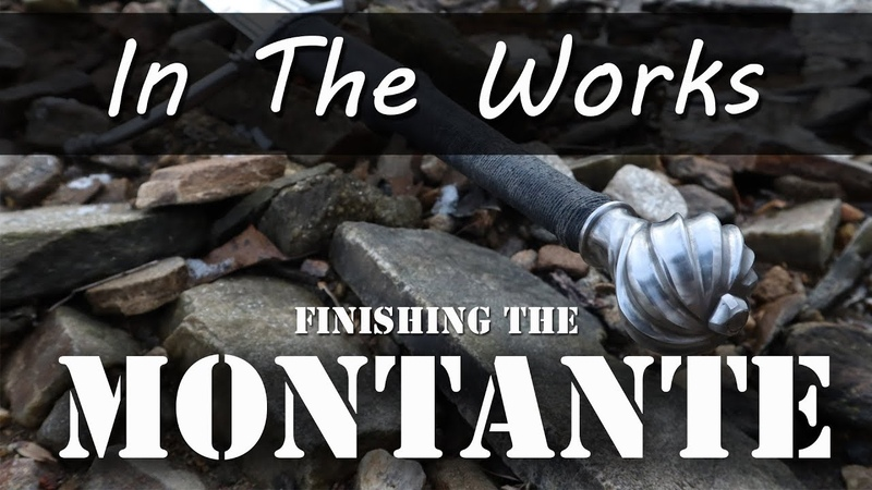 Finishing and Testing the Montante - Pommel Attachment Talk