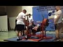 Сергей Усов 350 кг, «золото» ЧЕ 13.10.2018