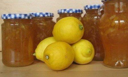 Варенье из лимона  Ингредиенты: Лимон —