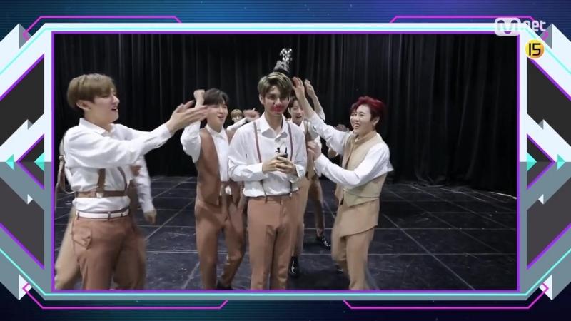 180618 Шестая победа Wanna One с песней Light на M! Countdown