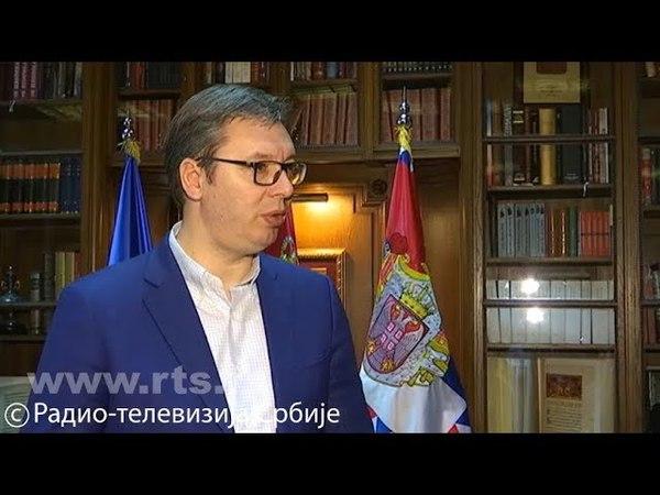 Vučić za RTS o Siriji: Ovo je za nas bolno podsećanje, ne treba da se mešamo