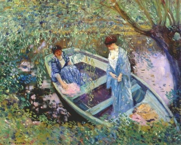 Фредерик Карл Фризеке (Frederic Carl Friesee американский художник импрессионист. Родился 7 апреля 1874 года в городе Овоссо (штат Мичиган, США). После недолгого обучения в художественной школе