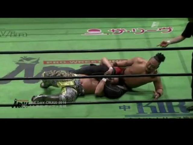 [IWU] Muhammed Yone vs. Katsuhiko Nakajima (NOAH)