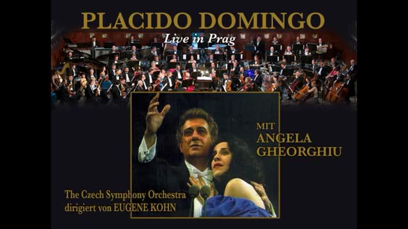 PLACIDO DOMINGO MIT ANGELA GHEORGHIU - Live in Prag 1994