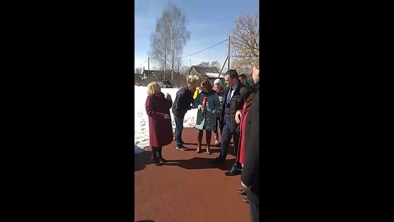 Посещение территории завода напольных покрытий г. Камешково Владимирской обл